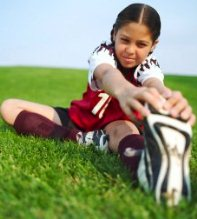 Free soccer conditoning drills - stretching exercises