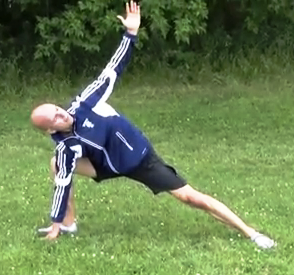 Free soccer warm-up-stretch