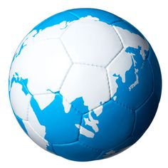 Soccer ball, World map
